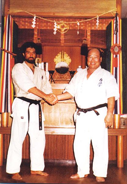 Sosai Oyama (Osu!) & Kancho Yousef Shirzad